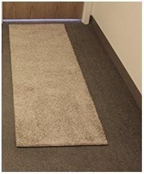 Koeckritz Rugs 2 x8 Economy Runner Carpet 25 Oz. Taffy Apple Beige Frieze for Home School Use 5