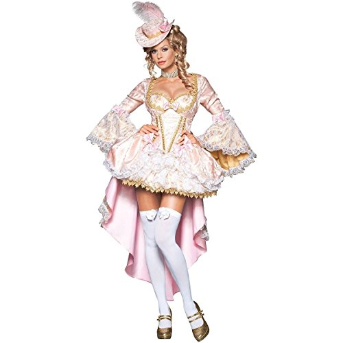 MutterMui Marie Antoinette Costume Adult Masquerade Ball Halloween Fancy Dress X-Small (Marie Antoinette Halloween Costume)