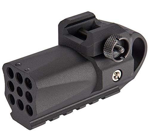 - AirSoft Mini Pistol Grenade 40 Shot Launcher Rail Mounted Picatinny HFC HG-138