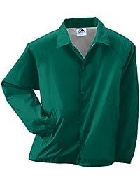 Augusta Sportswear MEN'S NYLON COACH'S JACKET/LINED