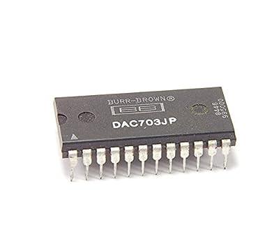 Burr Brown - DAC703JP - IC, D/A converters. 16-bit. Case: 24 Dip.
