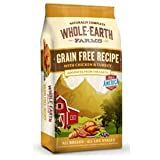 Whole Earth Farms Grain Free Chicken & Turkey Recipe Dry Dog Food 25lb For Sale