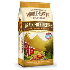 Cheap Whole Earth Farms Grain Free Chicken & Turkey Recipe Dry Dog Food 25lb