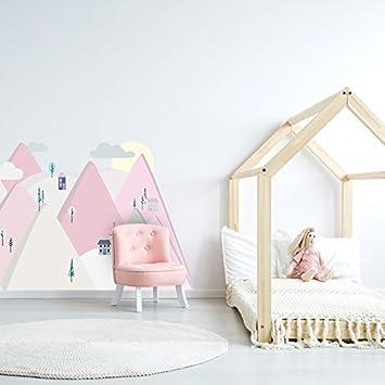 Amazon De Wandtattoo Wandaufkleber Bild Sticker Kinderzimmer 3d Xxl