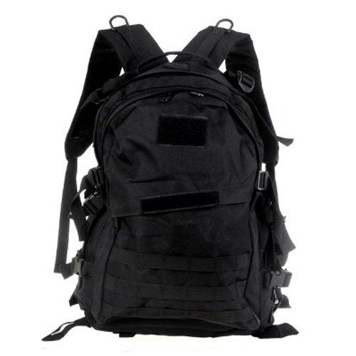 2267f8b3ee SODIAL(R) Tattico militare Zaino Zaino per campeggio viaggio Escursionismo  sacchetto 40L nero