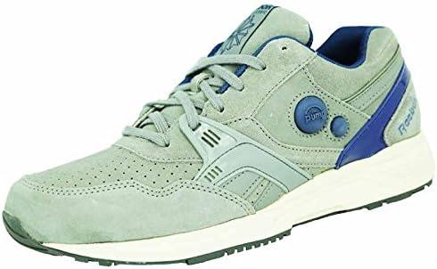 Reebok Pump Running Dual Zapatillas Sneakers Gris Azul para Hombre: Amazon.es: Deportes y aire libre