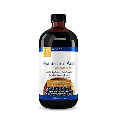 NeoCell - Hyaluronic Acid Blueberry Liquid - 16 fl. oz. (Packaging May Vary)
