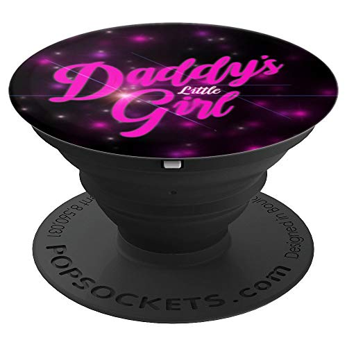 Daddy's Little Girl Pink Girly Galaxy - PopSockets Grip and Stand for Phones and Tablets