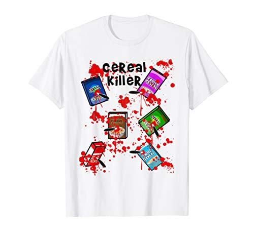 Cereal Killer Funny Easy Lazy Last Minute Halloween Costume