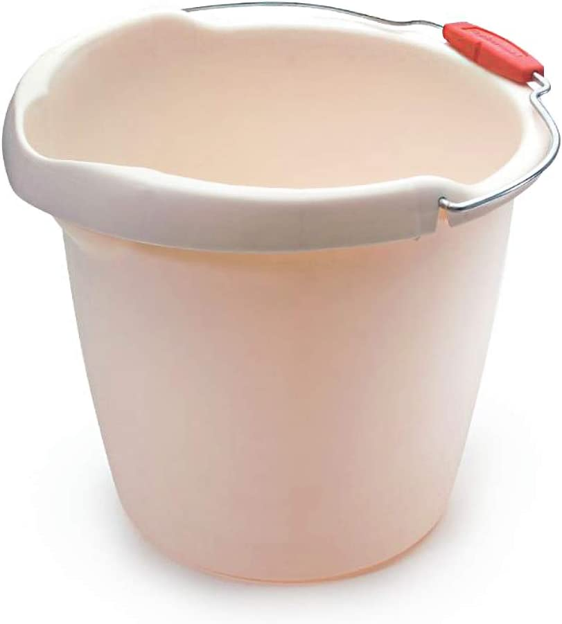 Rubbermaid Roughneck Heavy-Duty Utility Bucket, 15-Quart, Bisque: Home & Kitchen