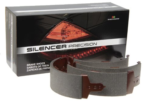 Silencer Friction B753 Precision Brake Shoe (Scion Brake Shoe Set)