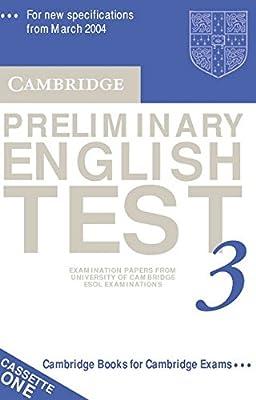 Cambridge Preliminary English Test 3 Audio Cassette Set (2