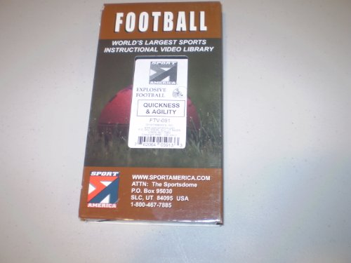 Youth League Explosive Football:  Quickness & Agility [VHS] by Sportamerica