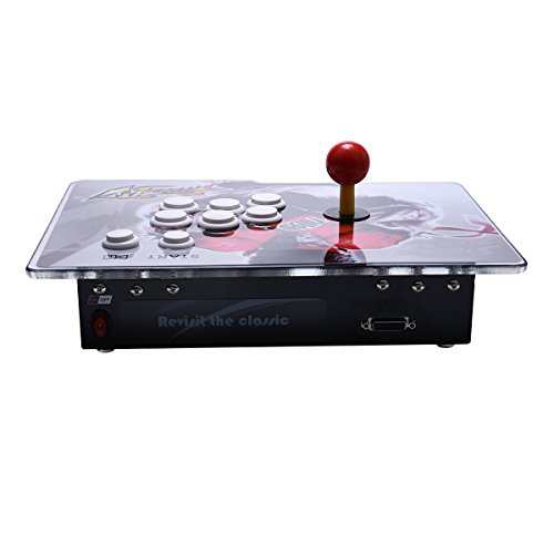 Yang HD Arcade Video Game Console Machine, 1299 Games, 2 Players 2 Single Consoles Pandora's Box 5S Multi Player Home Arcade, 1299 Games All in 1, Non-Jamma HDMI VGA by Yang (Image #2)