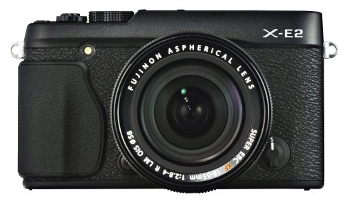 Fujifilm X-E2 Mirrorless Camera with 18-55mm Lens Black 16404935