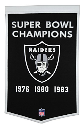 - Winning Streak NFL Oakland Raiders Dynasty Banner
