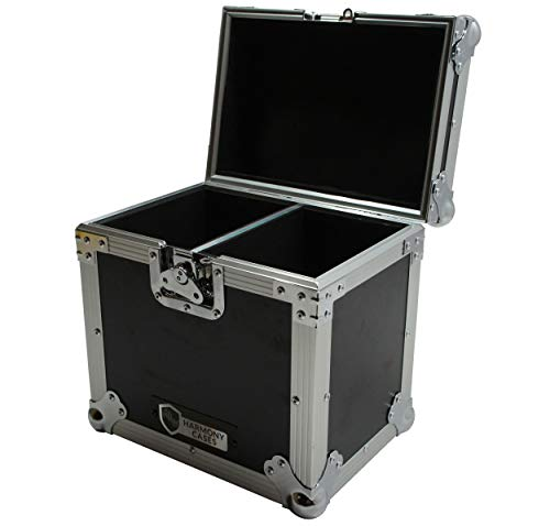 Harmony Cases Dual Chamber Space DJ Lighting Universal Ultility Road Travel Case ()