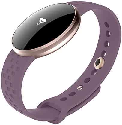 Women Smart Watch for iPhone Android, Fitness Tracker Touchscreen with Heart Rate Sleep Monitor, GPS Waterproof Call SMS Reminder Smart Wrist Watches