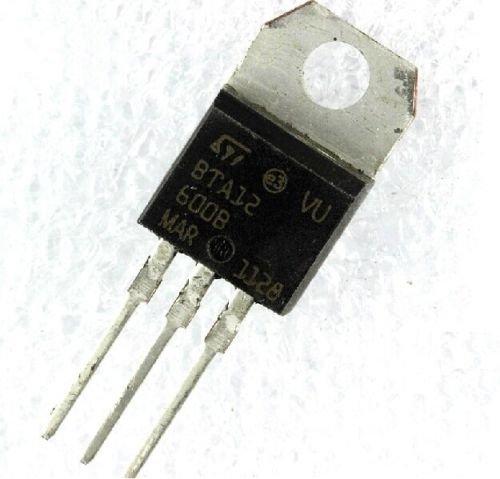 Price comparison product image 10 pcs BTA12-600B BTA12-600 Triac SGS-THOMSON 600V 12A
