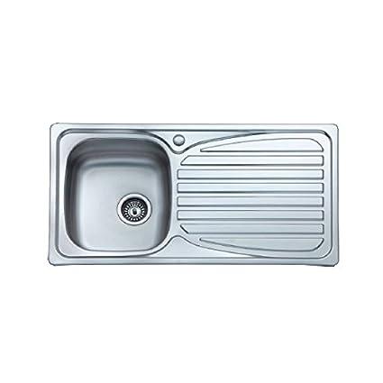 Amazon.com: Arcook EV880B fregadero de cocina con 1â lavabo ...
