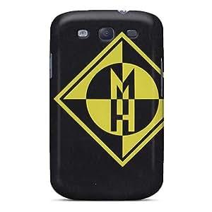 [HNQ1835YEat]premium Phone Case For Galaxy S3/ Machine Head Band Tpu Case Cover