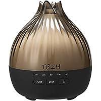 2021 Música Aroma Aceite Difusor de Ambiente, Difusor de Ambiente, Cambio de Color con Altavoz Bluetooth, Humidificador…