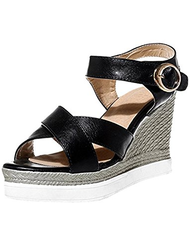 Ankle Strap Open Toe Wedges Sandal ()