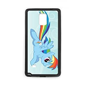 Mi pequeño Pony H0L0Dj Funda Samsung Galaxy Note 4 caja del teléfono celular Funda Negro Y4W7KD diseñar mi propio teléfono funda de casos