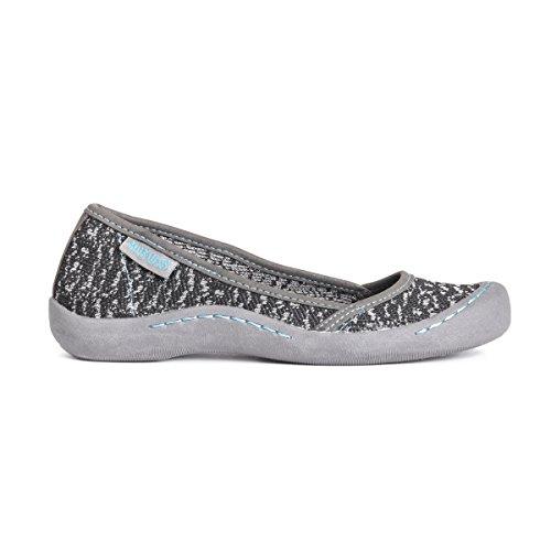 MUK LUKS Black Shoes Women's Sneaker Sandy 8Agq8S