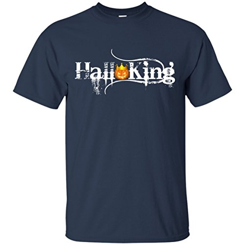 Halloking pumpkin king halloween special gift men t-shirt for mom, dad, family members, beloved, friends and boss on halloween day, halloween holiday, halloween (Haddonfield Halloween 2017)