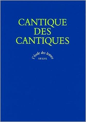Livres gratuits en ligne Cantique des cantiques, Ruth, Ecclésiaste, Lamentations, Esther pdf, epub ebook
