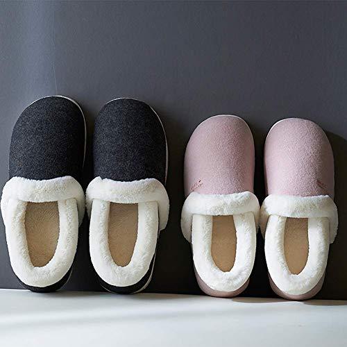 Basse Coton Chaussons SFHK Unisexe Intérieur Extérieur Pink Bottes Chaussures Antidérapant Taille Flip Hiver Flop Confort ZZUgqxw