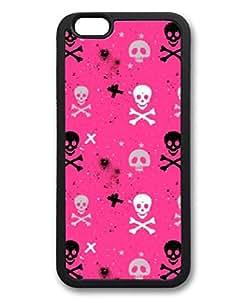 Black Death Custom Personalized Design DIY Back Case for iPhone 6 4.7 TPU Black -1210039