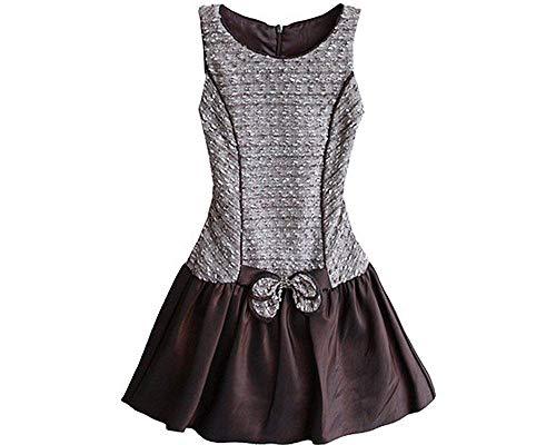 (Isobella & Chloe Little Girl's Cute Karen Drop Waist Taffeta Dress (5))