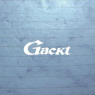 GACKT LAPTOP CAR WALL ART WINDOW BIKE ART HELMET ADHESIVE for sale  Delivered anywhere in USA