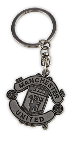 Manchester United Supporter (MANCHESTER UNITED FC METAL KEYRING - FEATURES MUFC CREST - NEVER LOSE YOUR KEYS AGAIN WITH THIS GREAT KEYRING - MUFC CREST KEYCHAIN - GREAT STOCKING STUFFER FOR ANY MANCHESTER UNITED FC FAN)