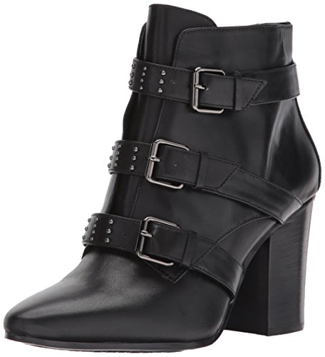 Square Women's Leather Boot Black Ankle Aerosoles Away AaxqwdFF