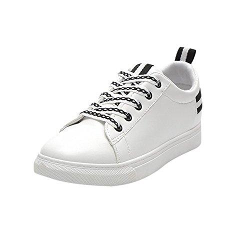 Chaussures Talon de Chaussures de de Bande Femmes Mode Rond croisée Sport à Gymnastique Bout Plat Yesmile Chaussures Sport Noir 0zSqan0