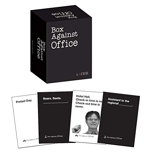 Box Against Office With 180 Cards - Party Game