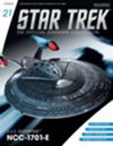 Star Trek Starships Figurine Collection Magazine #21 U.s.s Enterprise-e EAGLEMOSS PUBLICATIONS LTD
