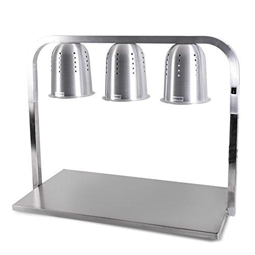 heating lamp food tray - 3
