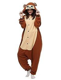 Belle House Bear Pajamas Animal Costume Onesie Adults Sleeping Wear Kigurumi Cosplay