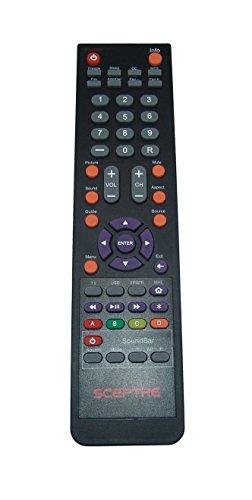 New Factory Original Sceptre 142022370010C LCD-LED HD TV Remote Control