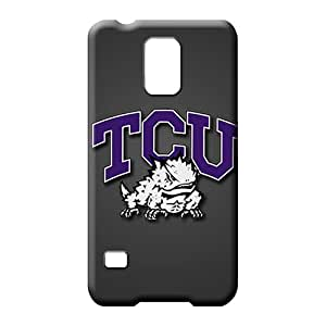 samsung galaxy s5 covers Eco-friendly Packaging colorful phone carrying cases tcu horned frogs
