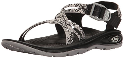 Chaco Women's Zvolv X Athletic Sandal, Alloy Dancer, 8 M US by Chaco