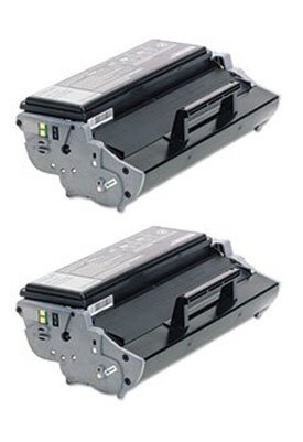 Clearprint 12A7305 Compatible 2-pack of Black Toner Cartridges for Lexmark E321, E323, E323n printers ()