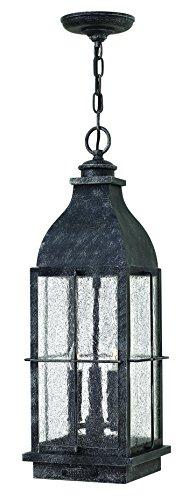 Hinkley 2042GS Traditional Three Light Hanging Lantern fr...