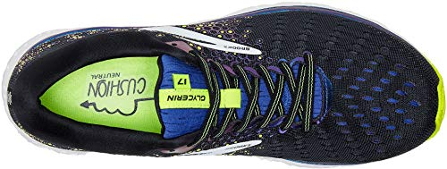 Brooks Men's Glycerin 17 Black/Blue/Nightlife 7 D US by Brooks (Image #1)