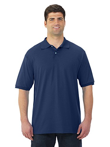jerzees-50-50-mens-56-oz-jersey-polo-with-spotshield-j-navy-x-large