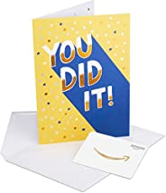 Amazon.ca Gift Cards in a Premium Greeting Card (Various Designs)